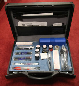 Sirchie Field Latent Fingerprint Kit Supplies Are In Near Mint Condition