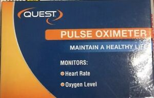 New Quest Family Fingertip Pulse Oximeter With Pediatric Probe