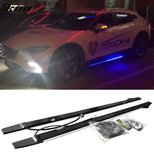 Universal Lighting Side Skirts Extension 77 5 Inches Type 1 Aluminum Pair