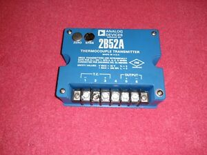 Analog Devices 2b52a Thermocouple Transmitter 2b52a 1 j 01 Type J