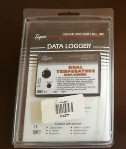 Supco Dltt Dual Temperature Data Logger With Optional Computer Software