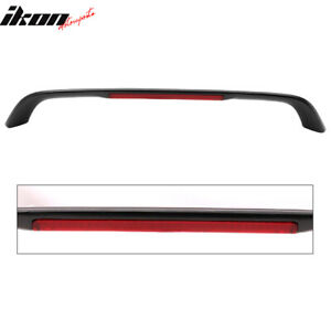 Fits 96 08 Honda Civic Si Coupe Em Fg Type R T R Trunk Spoiler 3rd Brake Led Abs