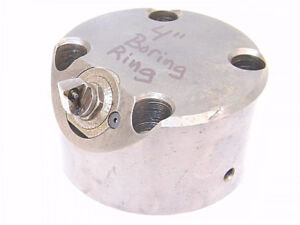 Used Boring Ring With Head With Valenite E z Set Cartridge Clac1