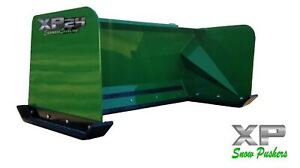5 Xp24 John Deere Snow Pusher Box Local Pick Up rtr Tractor Loader Snow Plow