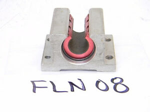 Used Standard Fln08 Linear Bearing With Support Block