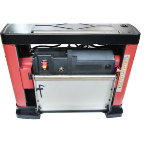 13 Thickness Planer Wood Planing Machine Benchtop Tools 1500w