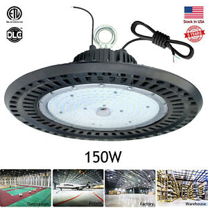 150watt Dimmable Led High Bay Light For Warehouse Mall Gym Industrial Commercial