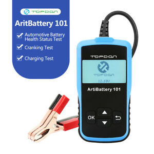 12volt Digital Car Battery Load Tester Auto Diagnostic Charging Vehicle Analyzer