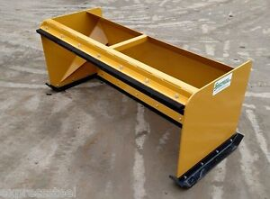 6 Pullback Snow Pushers Free Shipping Skid Steer Backhoe Snow Plow Bobcat