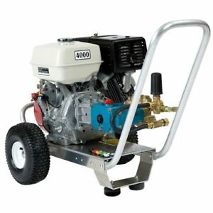 Pressure Washer 4000 Psi 4 Gpm Cat Pump 66dx Honda Gx390 13 Hp Honda