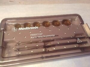 Medtronic Freestyle Aortic Valve Accessories Kit Good Condition