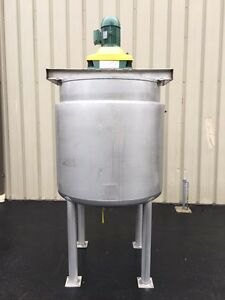 Apache 250 Gallon Stainless Steel Jacketed Mix Tank Vessel With Boiler New 2013
