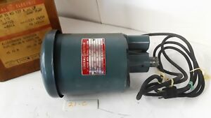 General Electric 5kh35kg137 Sump Pump Motor 1 3 Hp