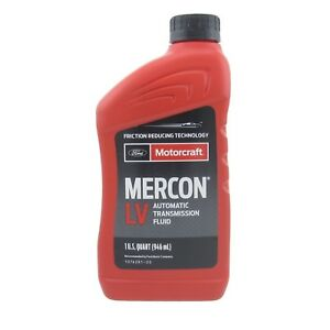 Motorcraft Mercon Lv Automatic Transmission Fluid Xt 10 qlvc Case Of 7 Quarts