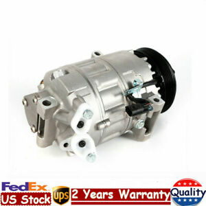 Ac Compressor Air Conditioner Compressor Co 10871c Fit 07 11 Nissan Sentra L4
