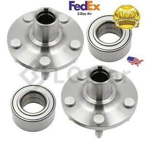 Pair 2 Front Wheel Hub Bearing Assembly Fits Toyota Corolla Celica Matrix