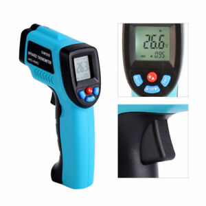 5x Gm550 Temperature Gun Non contact Infrared Ir Laser Lcd Digital Thermometer G