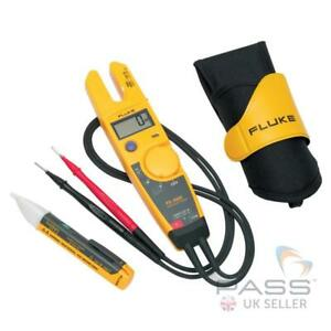 Fluke T5 h5 1ac Kit With T5 000 Voltage Tester H5 Carrying Case