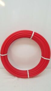 1 1 4 100 Non oxygen Barrier Red Pex Tubing For Heating And Plumbing