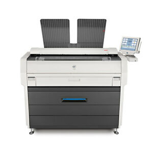 Kip 7100 Mfp Wide Format Pdf Copier Plotter Printer And Color Scanner