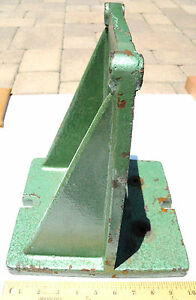 Bridgeport Style Right Angle Bracket Pedestal Base Rotary Table Milling Machine