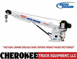 Auto Crane 600900000 Ec 2x Electric Crane 2 000 Lbs Capacity 5 6 To 9 Boom