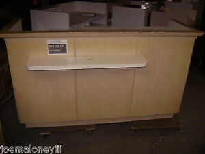 Kiosk Retail Counter Blonde 1002 75 1 2 X 25 1 2 X 43 h