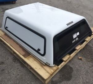 Ford F 150 Truck Bed Topper 2013 2014 W Dual Tool Boxes Camper Shell A r e