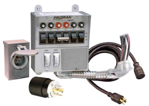 Reliance Controls 30 Amp 6 circuit Pro tran Transfer Switch Kit For Generators