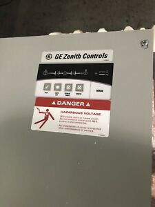 Ge Zenith Controls Mx60 120 240 200 Amp Automatic Transfer Switch