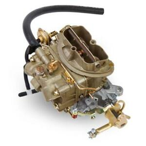 Holley Carburetor 0 4144 1 Oe Muscle Car 350 Cfm 2 Barrel Gold Dichromate