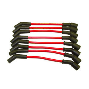 Taylor Spark Plug Wire Set 51246 Street Thunder 8mm Red 135 For Ls Chevy Truck