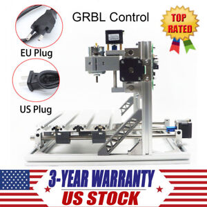 3 Axis Grbl Control 3018 Cnc Router Wood Engraving Milling Machine Printer Kit