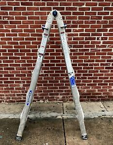 Werner Mt 22 22 Ft Type Ia Telescoping Multiladder ladder no Shipping