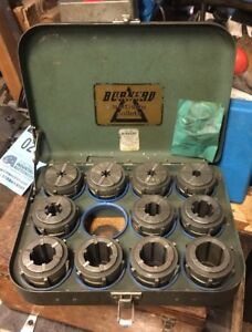 Burnerd Multisize Ec Collet Set In Case Southbend Clausing Leblond Metal Lathe