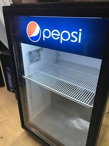 True Gdm 7 Pepsi Commercial Counter Top Beverage Cooler
