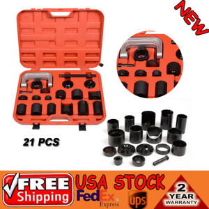 21 Pcs Truck Car Master Ball Joint Set Remover Installer Tool W C Frame