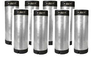 8 Pack 5 Gallon Ball Lock Kegs Reconditioned Homebrew Draft Beer Free Shipping