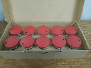 Sprecher schuh 18 102 010 11 Emergency Stop Push Buttons New Surplus box Of 10