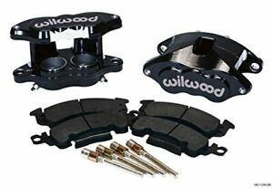 Wilwood 140 11290 Bk Front Caliper Kit D52 Big Gm Blk Powder Coat