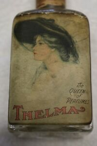 Stearns Fine Perfume Thelma Bottle 1905 Rare