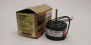 Dayton Fan blower Motor 3m534a New Old Stock 115v With Instructions