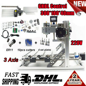 3 Axis Mini 3018 Engraving With Grbl Control Cnc Router Milling Engraver Machine