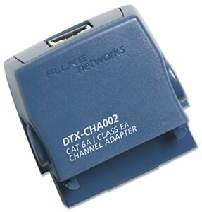Fluke Networks Dtx cha002 Cat 6a class Ea Channel Adapter For Dtx 1800 Cableanal