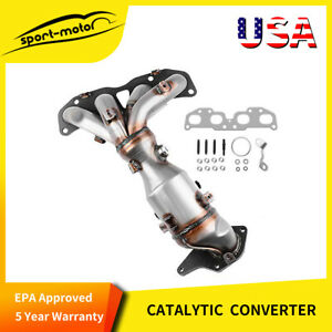 Catalytic Converter Manifold With Install Kit For 2008 2010 Nissan Altima 2 5