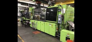 1998 Engel Es 1350 350 Hlst 390t Injection Molding Machine Working Cell