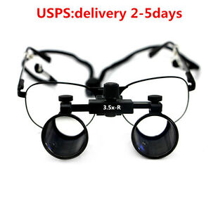 3 5x Dental Loupes Surgical Medical Binocular Optical Magnifier Glass