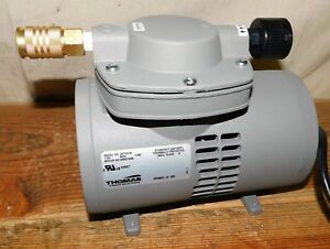 Thomas 927ca18 Compressor vacuum Pump 1 8 Hp
