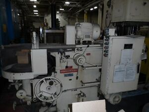 17 Sunstrand Rotary Surface Grinder