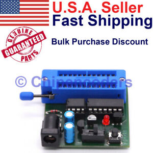 Microchip Pic Chip Ic Programmer Copier Duplicator Pic12c508 a Pic12c509 a